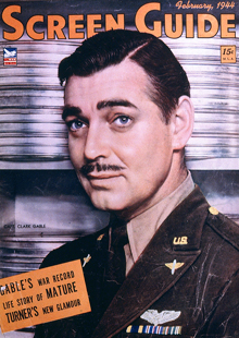 Clark Gable Screen Guide Magazine