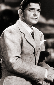 Clark Gable portrait