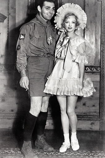 with Marion Davies
