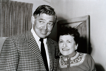with Louella O. Parsons