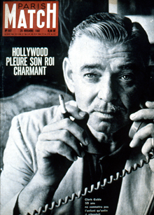 Clark Gable on Cover of Life Magazine