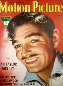 Clark Gable on Cover of Look Magazine