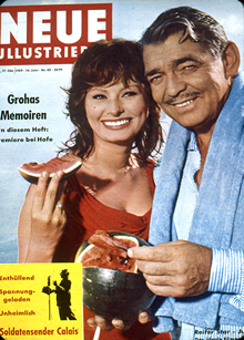 Clark Gable on Cover of Screen Stories